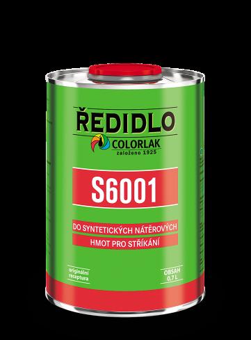 Ředidlo S6001 4l COLORLAK