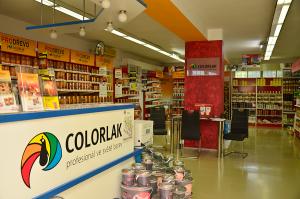 COLORLAK a.s. - Podniková prodejna Staré Město