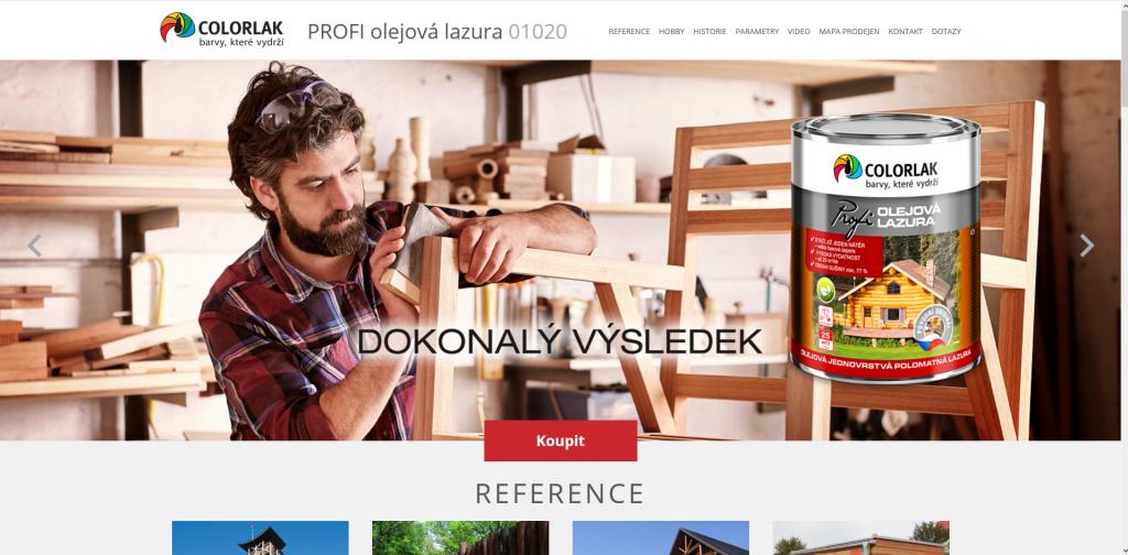www.olejovalazura.cz