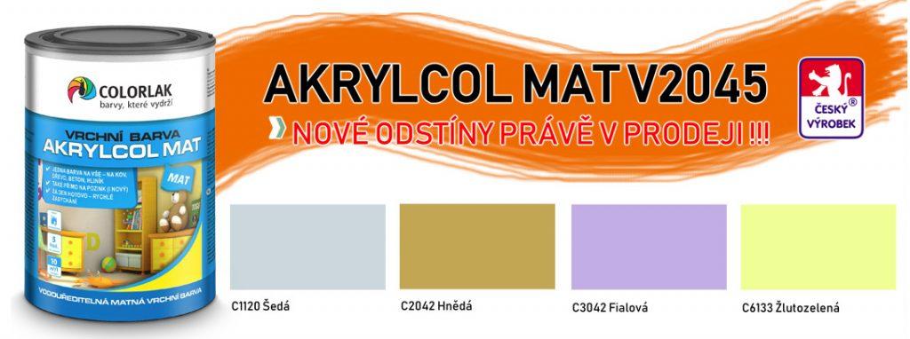 COLORLAK - V2045_nove odstiny